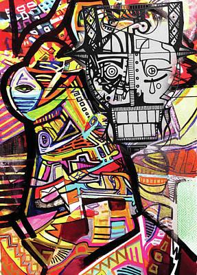 Haitian Drawing - Jebca by Luke Barosky