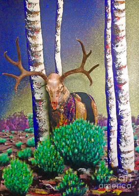 Painting - Heckle by Mayhem Mediums