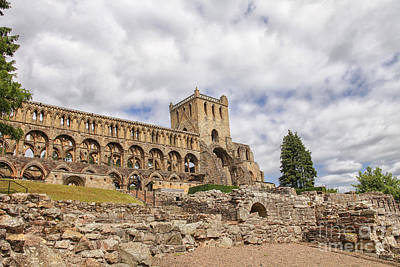 Jedburgh Abbey Art Print by Patricia Hofmeester