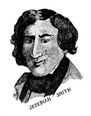Drawing - Jedediah S. Smith by Clayton Cannaday