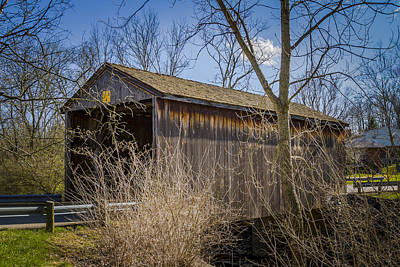 Music Royalty-Free and Rights-Managed Images - Jediah Hill Covered Bridge by Jack R Perry