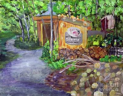 Painting - Jed's Maple by Donna Walsh