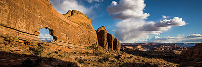 Photograph - Jeep Arch by Whit Richardson