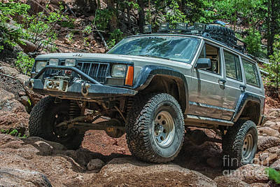 Photograph - Jeep Cherokee by Tony Baca