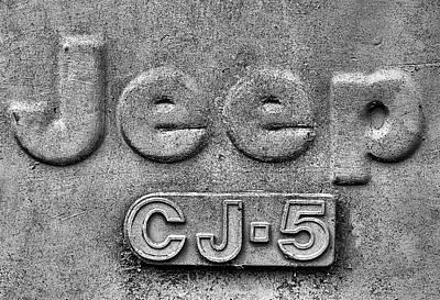 Photograph - Jeep Cj-5 by JC Findley