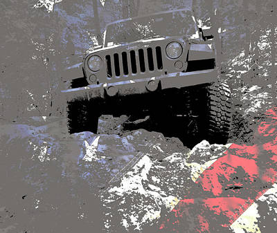 Photograph - Jeep Jk American Trail Hero by Luke Moore