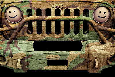 Photograph - Jeep Jk Camo by Luke Moore