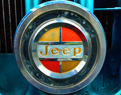 Jeep Logo 192 Art Print