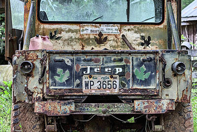 Photograph - Jeep Made To Last by JC Findley