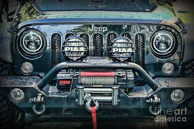 Photograph - Jeep Mean And Lean by Paul Ward