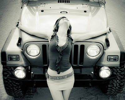 Photograph - Jeep by Scott Sawyer