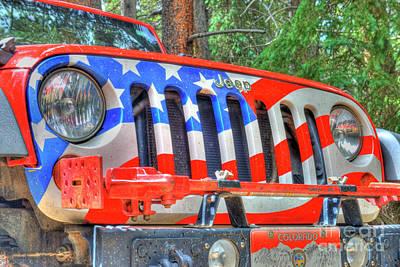 Photograph - Jeep Usa by Tony Baca