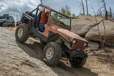 Photograph - Jeep Wrangler Yj by Tony Baca