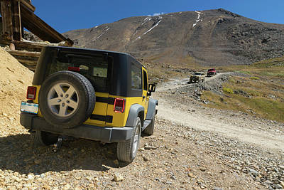 Colorado Photograph - Jeeping In Colorado by Jerry McElroy