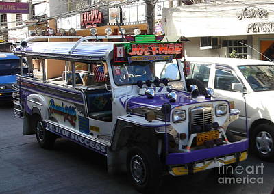 Jeepney 06 Art Print by Mike Holloway
