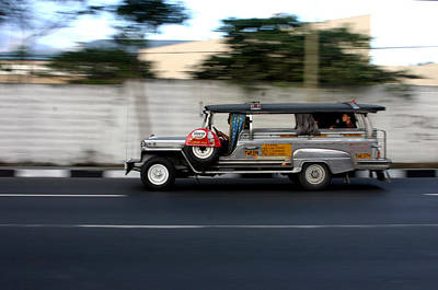 Jeepney 4 Art Print by Jez C Self