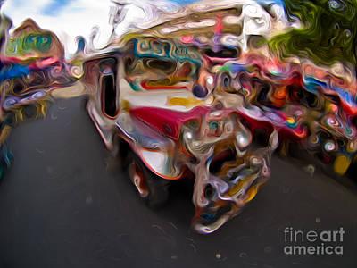 Mixed Media - Jeepney 62932421 by Rolf Bertram