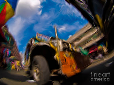 Mixed Media - Jeepney 62932501 by Rolf Bertram