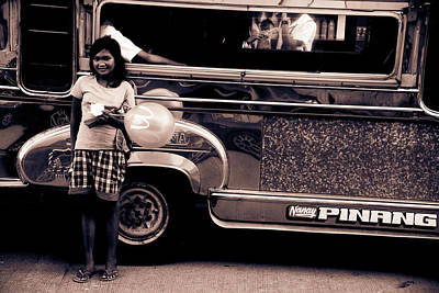 Photograph - Jeepney Trade by Jez C Self