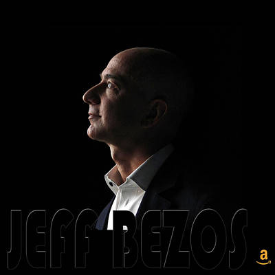 Photograph - Jeff Bezos 1 by Andrew Fare