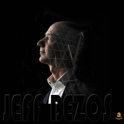 Photograph - Jeff Bezos 2 by Andrew Fare
