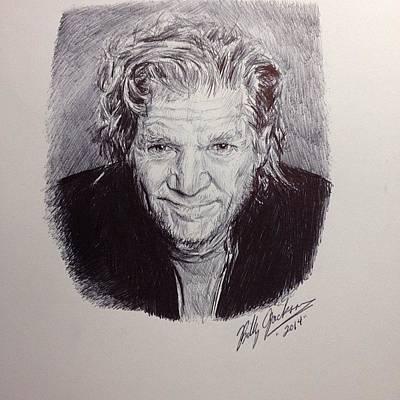 Lebowski Drawing - Jeff Bridges by Billy Jackson