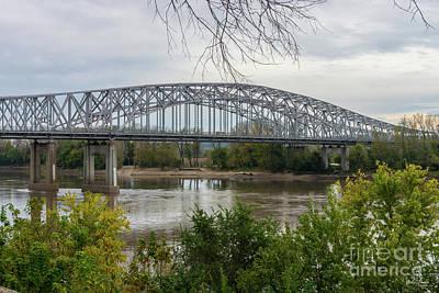 Photograph - Jeff City Bridge by Jennifer White