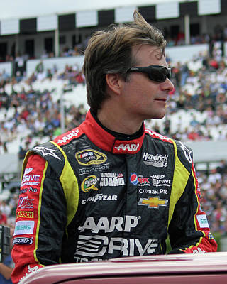 Jeff Gordon - 2013 Art Print by Mark A Brown