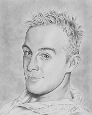 Drawing - Jeff by Joe Burgess