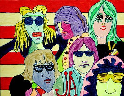 Painting - Jefferson Airplane On Scooby Doo by Gayland Morris
