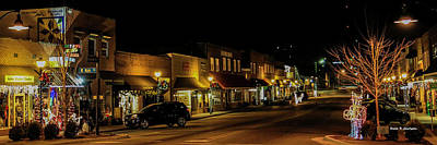 Photograph - Jefferson Avenue Aglow by Bluemoonistic Images