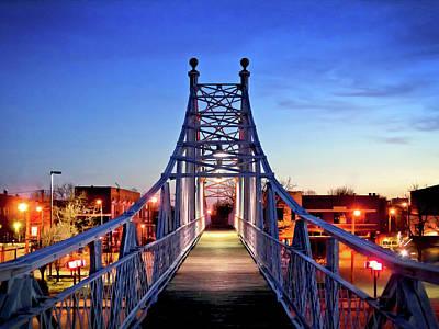Jefferson Avenue Footbridge Original by Ryan Burton