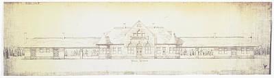 Photograph - Jefferson City Missouri Railroad Depot by Missouri Pacific Historical Society