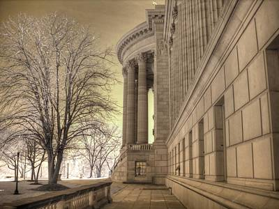 Jefferson City State Capitol Art Print by Jane Linders