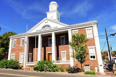 Photograph - Jefferson County Courthouse Dandridge by Sharon Popek