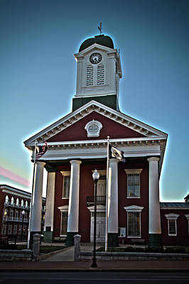 Photograph - Jefferson County Courthouse by Daniel Houghton
