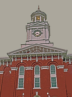 Jefferson County Courthouse Art Print