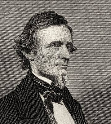 Jefferson Davis,1808-1889. First And Art Print by Vintage Design Pics