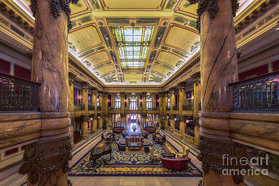 Spot Of Tea Royalty Free Images - Jefferson Hotel Royalty-Free Image by Jerry Fornarotto