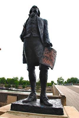 Jefferson In Paris Art Print by Eric Tressler