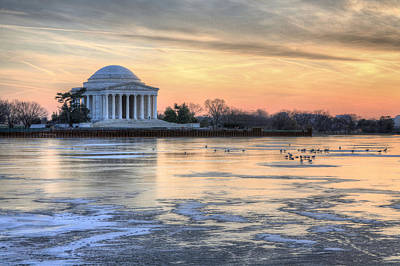 Jefferson Memorial Wall Art - Photograph - Jefferson by JC Findley