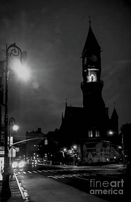 Photograph - Jefferson Market Library In New York City by James Aiken