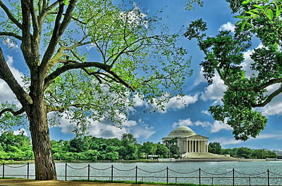 Photograph - Jefferson Memorial # 2 by Allen Beatty