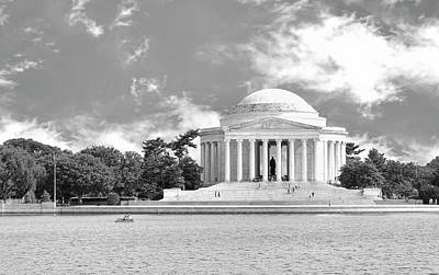 Photograph - Jefferson Memorial # 3 by Allen Beatty