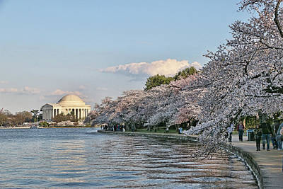 Photograph - Jefferson Memorial # 4 by Allen Beatty
