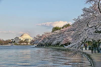 Photograph - Jefferson Memorial # 4 by Allen Beatty
