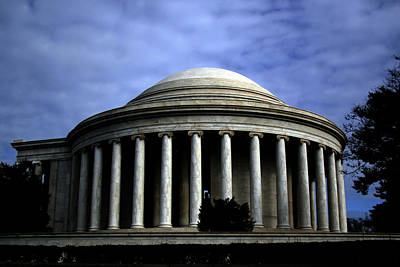 Photograph - Jefferson Memorial by April Sims