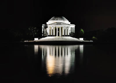 Photograph - Jefferson Memorial by Bill Dodsworth