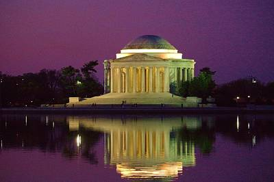 Photograph - Jefferson Memorial by Buddy Scott