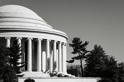 Photograph - Jefferson Memorial Building In Washington Dc by Brandon Bourdages